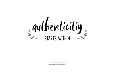 Authenticity starts within.